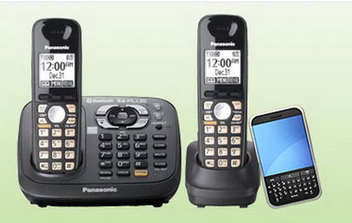 The panasonic kx tg7642 home phone system review merging two forms the panasonic kx tg7642 sciox Choice Image