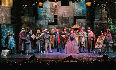 a christmas carol review orange county south coast repertory theater