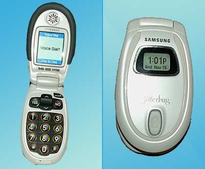 Jitterbug Cellular Phone