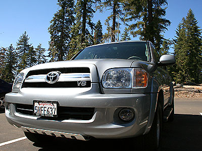 2005 Toyota Sequoia SUV   Review / Road Test