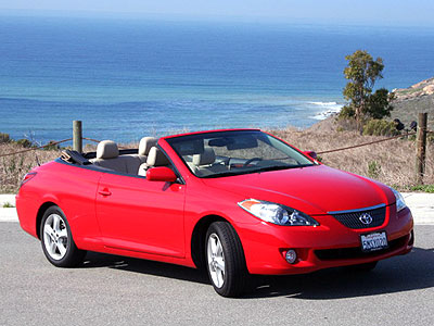 2006 Toyota Solara Convertible Review Road Test