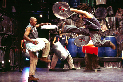 Stomp at the Pantages Theatre - A Smashing, Slammming, Stomping ...