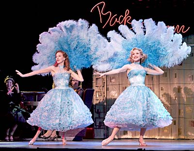 anastasia barzee and meredith patterson in sisters - White Christmas Costumes