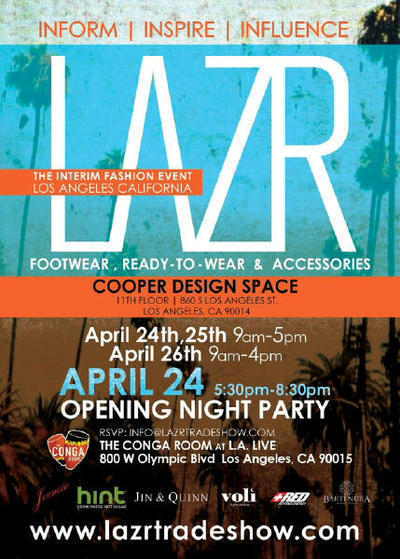 The LAZR Tradeshow Revamping The Fashion District Splash