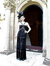 Sue Wong My Fair Lady 2011 Fall Winter Collection Review - Champagne Brunch and Fashion Is Ultimate in Hollywood Glamour