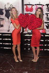 Victoria's Secret Supermodels Candice Swanepoel and Lily Aldridge Reveal their Favorite Valentine's Day Gift Picks