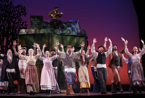 Attractive Cast Of Fiddler On The Roof