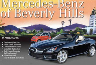 Mercedes Benz of Beverly Hills Service Department Review