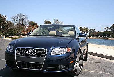2007 Audi A4 Cabriolet Review Road Test Splash Magazines Los Angeles