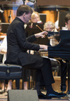 Grant Park Music Festival Plays Dvorak and Beethoven Review-Hough's Virtuosity Highlights
