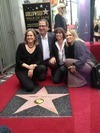 Janis Joplin Honored With Posthumous Star - Hollywood Walk of Fame with sister Laura Joplin