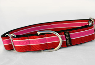If It Barks Stacked Stripes Dog Collar