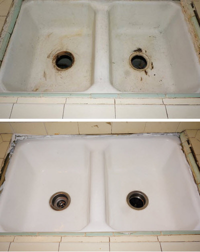 How To Refinish Kitchen Sink pkb reglazing review - a proud family business | splash magazines