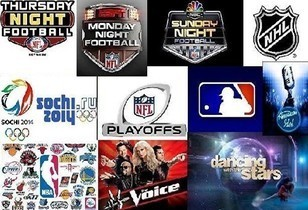 Watch live sports, reality & awards show - with no commercials
