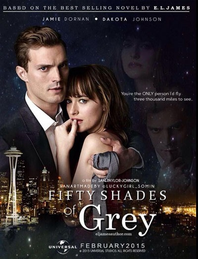 Poster For Fifty Shades Of Grey