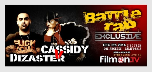 Dizaster vs  Cassidy Ether Event Review - Underground Rap