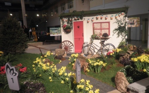 The 2015 Flower and Garden Show Spring Blooms in Chicago