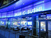 Blue C Sushi Restaurant Review - A Rotating Sushi Bar Comes To Hollywood