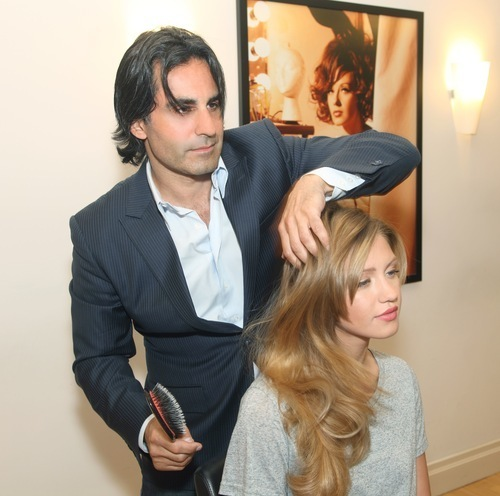 Personalized Hair Color And Extensions For A Celebrity Look At