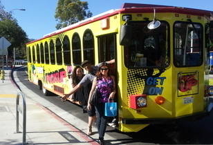 West Hollywood Trolley Launch