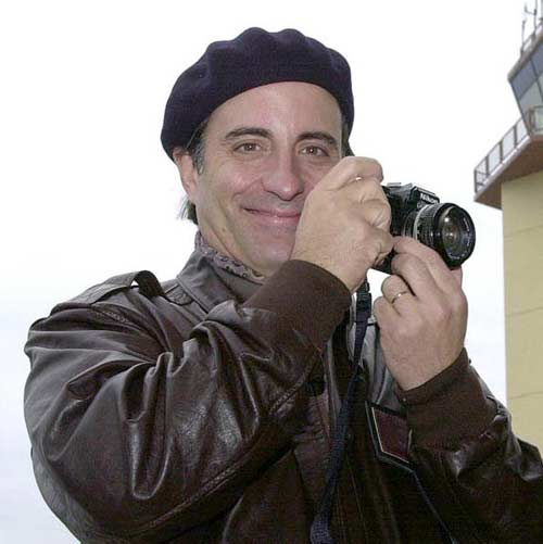 "The first time I saw Andy Garcia was in ""The Untouchables"" and I remember ..."
