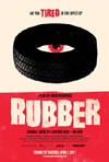Rubber Film Review - Tire Terrorizes Desert Community in Quentin Depieux's Film