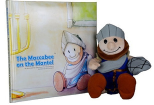 "In Conversation With Abra Liberman-Garrett – Co-Creator of  ""Maccabee on the Mantel"