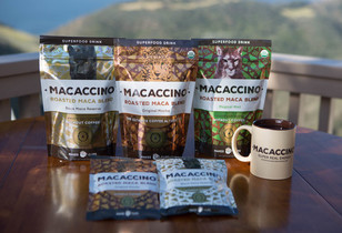 Organic and Gluten Free Superfood Beverage, Macaccino