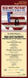 "Red Hot Patriot Theater Review - Kathleen Turner Is Red Hot in ""Red Hot Patriot – The Kick-Ass Wit of Molly Ivins"""
