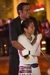 GEICO Rock 'n' Roll Las Vegas Marathon & ½ Marathons - Run Thru Wedding Ceremony at Monte Carlo's BLVD Plaza Sunday, Nov. 15