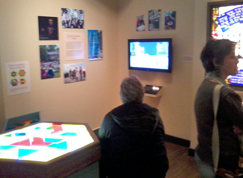 Shalom Chicago Exhibition, interactive section