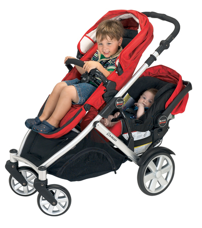 Lifestyle Studio B Ready Stroller With Single Seat Infant Car