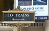 Amtrak Train Days 2015 Kickoff at Chicago Union Station Review - Great Free Event for Kids