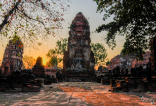 Touch of Thailand - 5. The Journey continues, the ancient Thai Capital of Ayutthaya