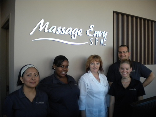 Location Owner Kathy Durant And Massage Envy Employees
