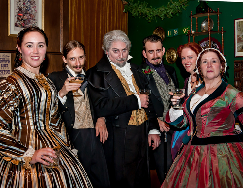 the great dickens christmas fair is perfect for young people offering authentic old world activities games and holiday entertainment opportunities