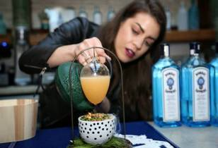 11th Annual Most Imaginative Bartender Competition - Brittany Olsen Shows How Creative Mixology Can Get