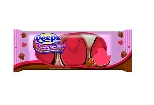 PEEPS® Chocolate Dipped Strawberry Crème Flavored Chicks