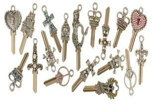 designer key blanks you can have cut to your own home or office