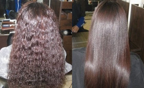 Edan Brazilian Keratin Treatment A Date With Straight Gets Frizzy Lizzy Sleek And Silky