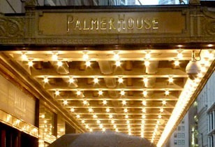 Palmer House Hilton in Chicago Review - Where the Destination Is Romance