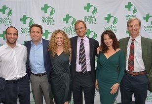 Global Green USA's Annual Millennium Awards - Celebs Support