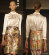 Reem Acra – Spring 2012 Review – She Dances, She Dazzles