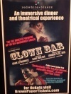 Clown Bar Review - A New Concept in Dinner Theatre