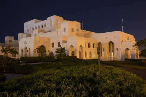 Royal opera house muscat pictures of spider
