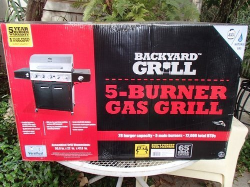Backyard Grill, 5 Burner Gas Grill Review - The Stainless Steel King of  Summer - Backyard Grill, 5 Burner Gas Grill Review - The Stainless Steel King
