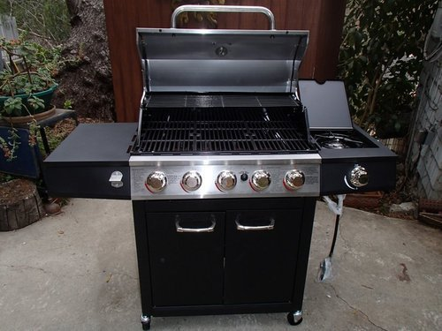 The Backyard Grill - Backyard Grill, 5 Burner Gas Grill Review - The Stainless Steel King