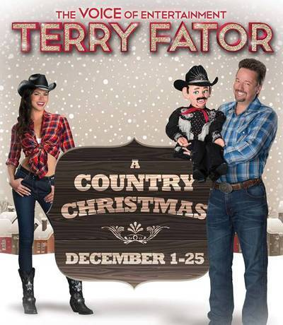 las vegas strip headliner terry fator has created his own version of the old classic holiday show with a bit of a country western theme - Country Christmas Las Vegas