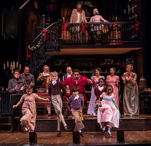 Cast Of A Christmas Carol.A Christmas Carol Review 36 Years At The Goodman And