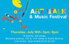 Art & Music and More at Montana Ave Art Walk and Music Festival, Thursday, July 16th!